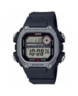 Sportowy zegarek męski CASIO Collection DW-291H-1AVEF (DW291H1AVEF)