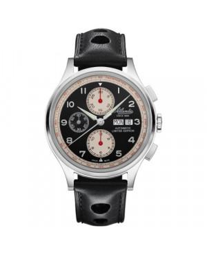 Sportowy zegarek męski ATLANTIC Worldmaster Valjoux Limited Edition 55852.41.63 (558524163)