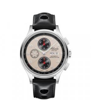 Sportowy zegarek męski ATLANTIC Worldmaster Valjoux Limited Edition 55852.41.93 (558524193)