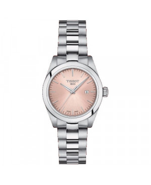 TISSOT T132.010.11.331.00 T-MY Lady zegarek damski elegancki szwajcarski z szafirowym szkłem