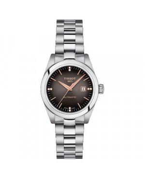 TISSOT T132.007.11.066.01 T-My Lady Automatic (T1320071106601) zegarek damski elegancki szwajcarski z szafirowym szkłem