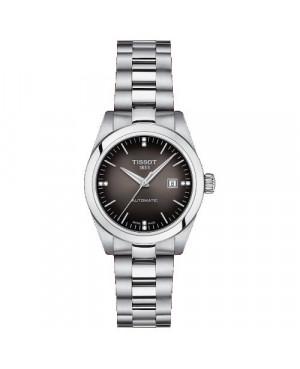 TISSOT T132.007.11.066.00 T-My Lady Automatic (T1320071106600) zegarek damski elegancki szwajcarski z szafirowym szkłem