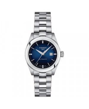 TISSOT T132.007.11.046.00 T-My Lady (T1320071104600) zegarek damski elegancki szwajcarski z szafirowym szkłem