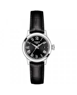 TISSOT T129.210.16.053.00 Classic Dream Lady zegarek damski klasyczny szwajcarski z szafirowym szkłem kwarcowy na pasku
