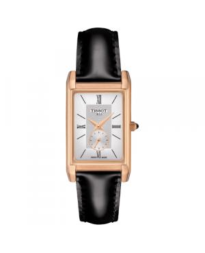 Szwajcarski, klasyczny zegarek damski  TISSOT Prestigious 18K T923.335.76.038.00 (T9233357603800)