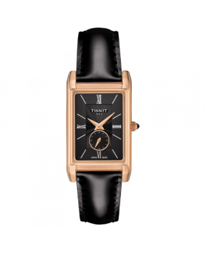 Szwajcarski, elegancki zegarek damski  TISSOT Prestigious 18K T923.335.76.058.00 (T9233357605800)