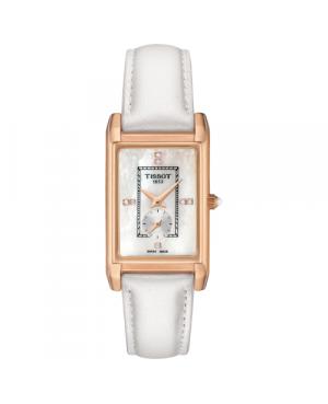 Szwajcarski, elegancki zegarek damski  TISSOT Prestigious 18K T923.335.76.116.00 (T9233357611600)
