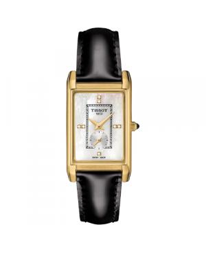 Szwajcarski, elegancki zegarek damski  TISSOT Prestigious 18K T923.335.16.116.00 (T9233351611600)