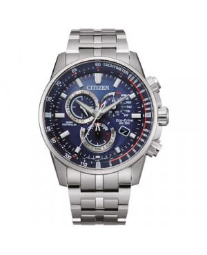 Sportowy zegarek męski CITIZEN Eco-Drive Radio Controlled CB5880-54L (CB588054L)