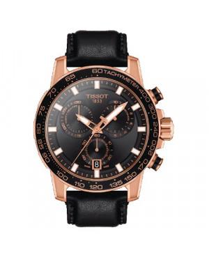 Szwajcarski, sportowy zegarek męski TISSOT Supersport Chrono T125.617.36.051.00 (T1256173605100)
