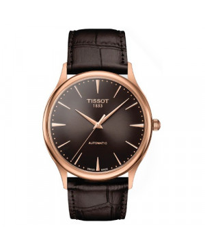 Elegancki zegarek męski TISSOT Excellence Automatic T926.407.76.291.00 (T9264077629100)