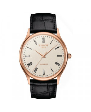 Elegancki zegarek męski TISSOT Excellence Automatic T926.407.76.263.00 (T9264077626300)