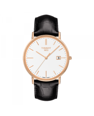 Elegancki zegarek męski TISSOT Goldrun T922.410.76.011.00 (T9224107601100) zegarek szwajcarski szafirowe szkło