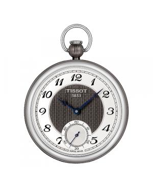 Klasyczny zegarek męski TISSOT Bridgeport T860.405.29.032.00 (T8604052903200)