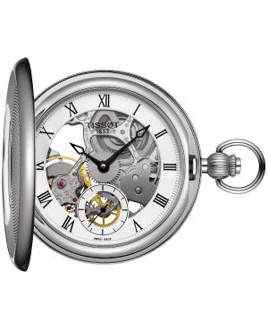 Klasyczny zegarek męski TISSOT Bridgeport T859.405.19.273.00 (T8594051927300)