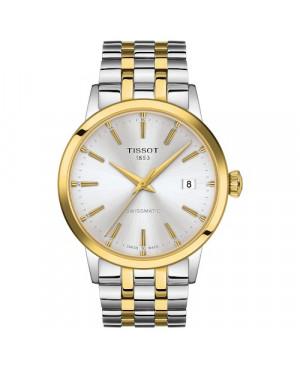 TISSOT T129.407.22.031.01 Classic Dream (T1294072203101) zegarek męski automatyczny szwajcarski z szafirowym szkłem