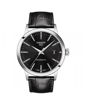 TISSOT T129.407.16.051.00 Classic Dream (T1294071605100) zegarek męski automatyczny szwajcarski z szafirowym szkłem na pasku