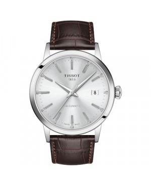 TISSOT T129.407.16.031.00 Classic Dream (T129.407.16.031.00) zegarek męski automatyczny szwajcarski z szafirowym szkłem