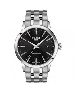 TISSOT T129.407.11.051.00 Classic Dream (T1294071105100) zegarek męski automatyczny szwajcarski z szafirowym szkłem