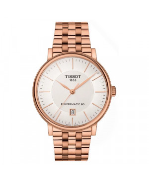 Szwajcarski, klasyczny zegarek męski TISSOT Carson Premium T122.407.33.031.00 (T1224073303100)