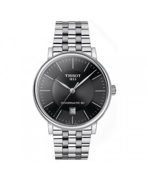 Szwajcarski, klasyczny zegarek męski TISSOT Carson Premium T122.407.11.051.00 (T1224071105100)