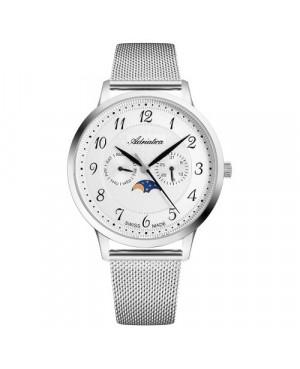 Szwajcarski, elegancki zegarek męski ADRIATICA A1274.5123QF (A12745123QF)
