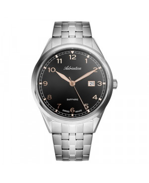 Szwajcarski, elegancki zegarek męski ADRIATICA A8260.51R4Q (A826051R4Q)