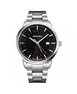 Szwajcarski, klasyczny zegarek męski ADRIATICA A8307.5116Q (A83075116Q)