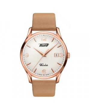 Szwajcarski, klasyczny zegarek męski TISSOT Visodate T118.410.36.277.01 (T1184103627701)