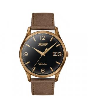 Szwajcarski, klasyczny zegarek męski TISSOT Visodate T118.410.36.057.00 (T1184103605700)