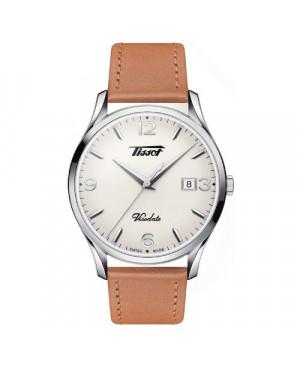 Szwajcarski klasyczny zegarek męski TISSOT Visodate T118.410.16.277.00 (T1184101627700)