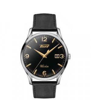 Szwajcarski, klasyczny zegarek męski TISSOT Visodate T118.410.16.057.01 (T1184101605701)
