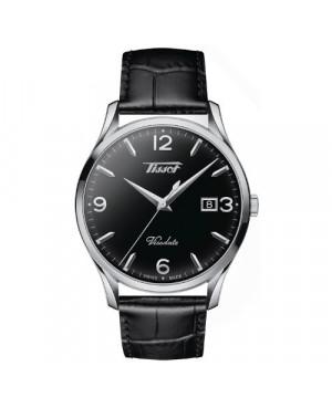 Szwajcarski, klasyczny zegarek męski TISSOT Visodate T118.410.16.057.00 (T1184101605700)