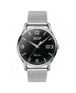 Szwajcarski, klasyczny zegarek męski TISSOT Visodate T118.410.11.057.00 (T1184101105700)