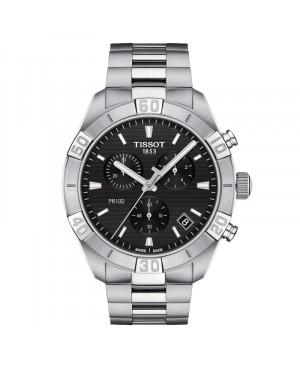TISSOT T101.617.11.051.00 PR 100 Sport Gent Chronograph (T1016171105100) zegarek męski kwarcowy szwajcarski