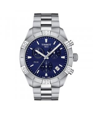 TISSOT T101.617.11.041.00 PR 100 Sport Gent Chronograph (T1016171104100) zegarek męski kwarcowy szwajcarski