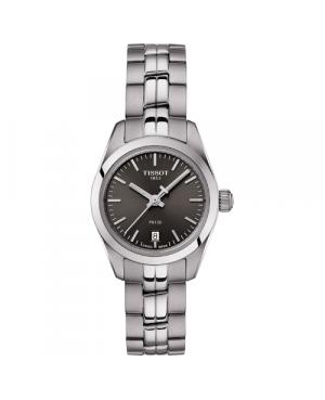 Szwajcarski, klasyczny zegarek damski TISSOT PR 100 Lady Small T101.010.11.061.00 (T1010101106100) elegancki na bransolecie