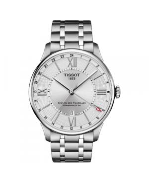 Elegancki zegarek męski TISSOT Chemin des Tourelles T099.429.11.038.00 (T0994291103800)