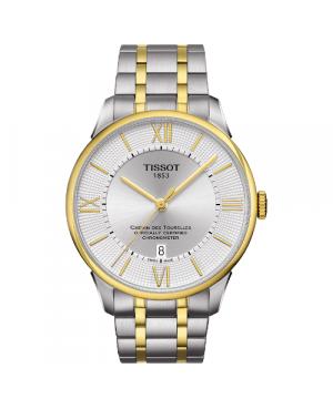 Elegancki zegarek męski TISSOT CHEMIN DES TOURELLES T099.408.22.038.00 (T0994082203800)