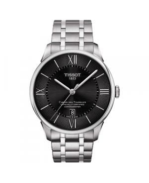 Elegancki zegarek męski TISSOT CHEMIN DES TOURELLES T099.408.11.058.00 (T0994081105800)