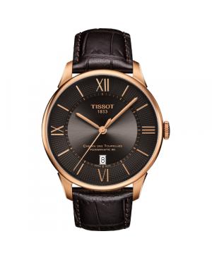Elegancki zegarek męski TISSOT CHEMIN DES TOURELLES T099.407.36.448.00 (T0994073644800)