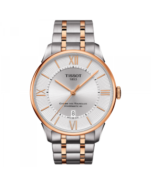 Elegancki zegarek męski TISSOT CHEMIN DES TOURELLES T099.407.22.038.02 (T0994072203802)