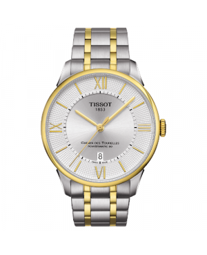 Elegancki zegarek męski TISSOT CHEMIN DES TOURELLES T099.407.22.038.00 (T0994072203800)