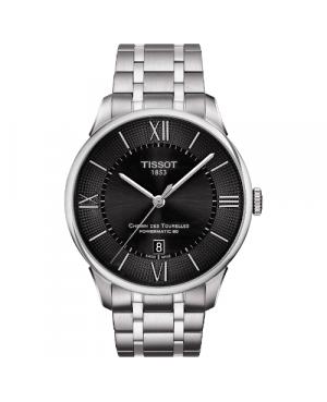 Elegancki zegarek męski TISSOT CHEMIN DES TOURELLES T099.407.11.058.00 (T0994071105800)