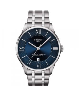 Elegancki zegarek męski TISSOT CHEMIN DES TOURELLES T099.407.11.048.00 (T0994071104800)
