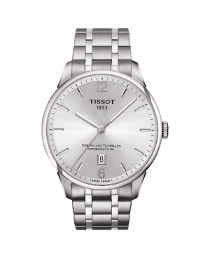 Elegancki zegarek męski TISSOT CHEMIN DES TOURELLES T099.407.11.037.00 (T0994071103700)