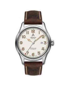 Klasyczny zegarek męski ATLANTIC 52752.41.93S Worldmaster (527524193S)