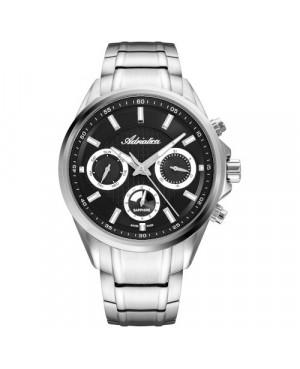 Szwajcarski,elegancki zegarek męski  ADRIATICA A8321.5114QF (A83215114QF)