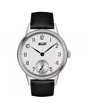 Szwajcarski, klasyczny zegarek męski TISSOT HERITAGE PETITE SECONDE T119.405.16.037.00 (T1194051603700)