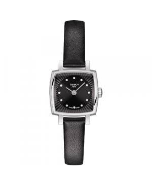 Szwajcarski, elegancki zegarek damski TISSOT Lovely Square T058.109.16.056.00 (T0581091605600)